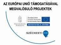 Az Európai Unió támogatásával megvalósuló projektek